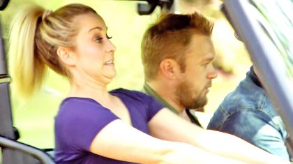 Kellie Pickler Scares Husband Senseless With Hysterically Awful Driving Skills