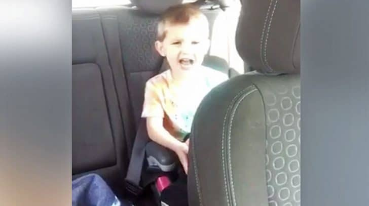 Tiny Tot Belting His Favorite Country Song Is The Cutest Thing You'll See Today | Country Music Nation