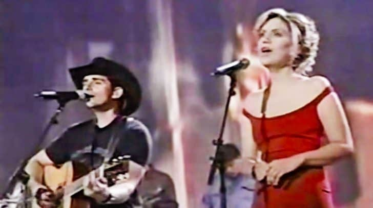 Brad Paisley & Alison Krauss Capture The Pain Of A Broken Heart In The Tragic 'Whiskey Lullaby' | Country Music Nation