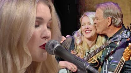 Ashley Campbell Brings Audience To Tears In Moving Tribute To Father