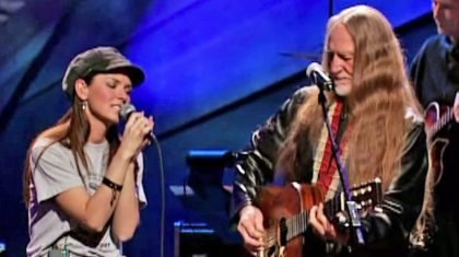 "Shania Twain Joins Willie Nelson For Masterful ""Blue Eyes Crying In The Rain"" Duet"