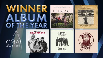 2017 CMA Award For Album Of The Year Announced