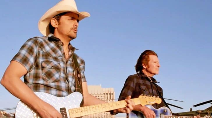 Brad Paisley & John Fogerty Publicly Slam Poor Treatment Of Veterans In Fiery Song | Country Music Nation