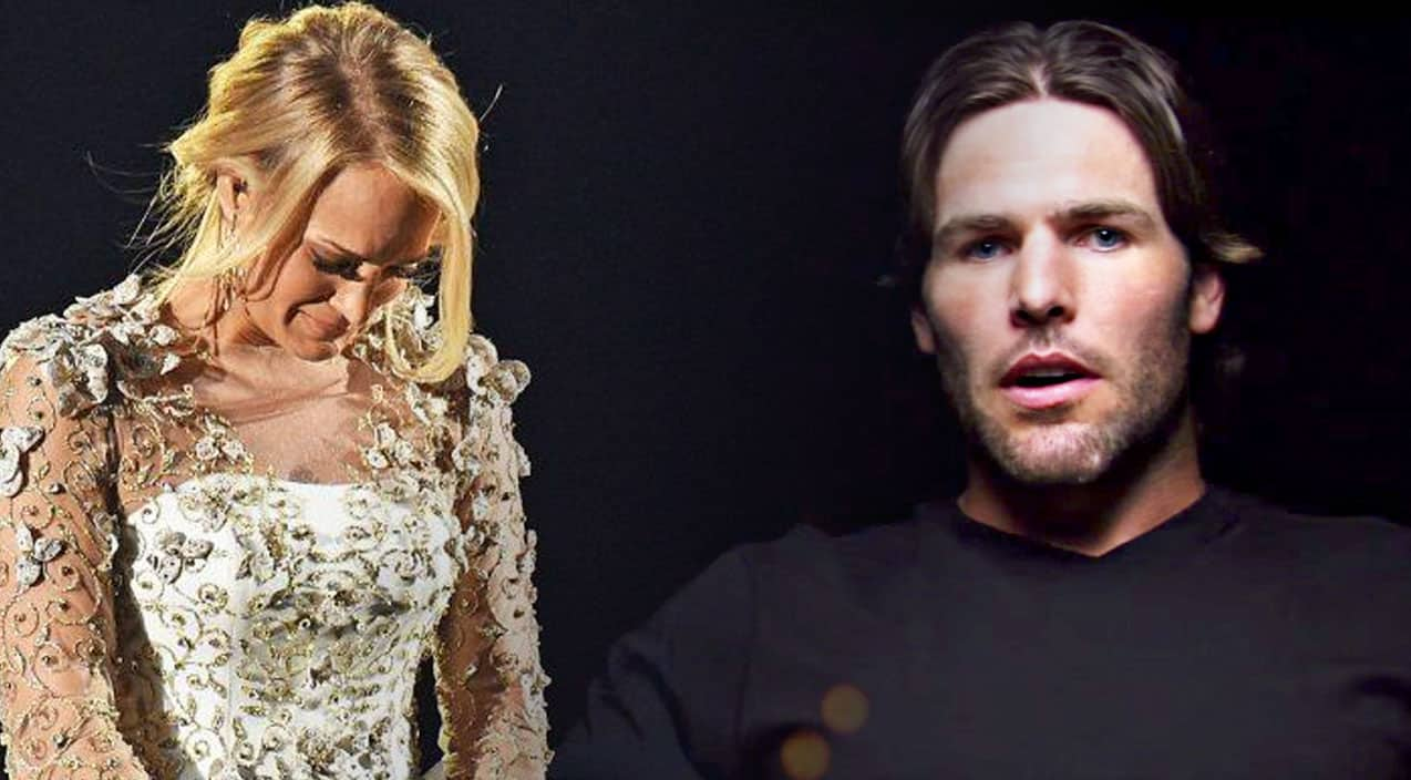 Mike fisher makes powerful statement after carrie for Carrie underwood softly and tenderly