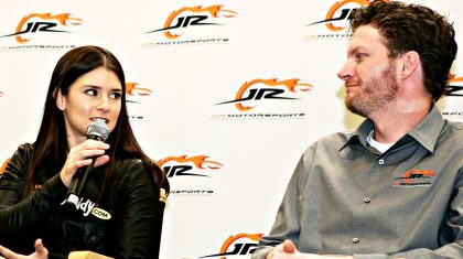 Danica Patrick Shares Heartfelt 'Goodbye' With Dale Jr.