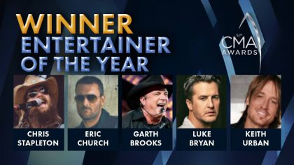 2017 CMA Award For Entertainer Of The Year Announced