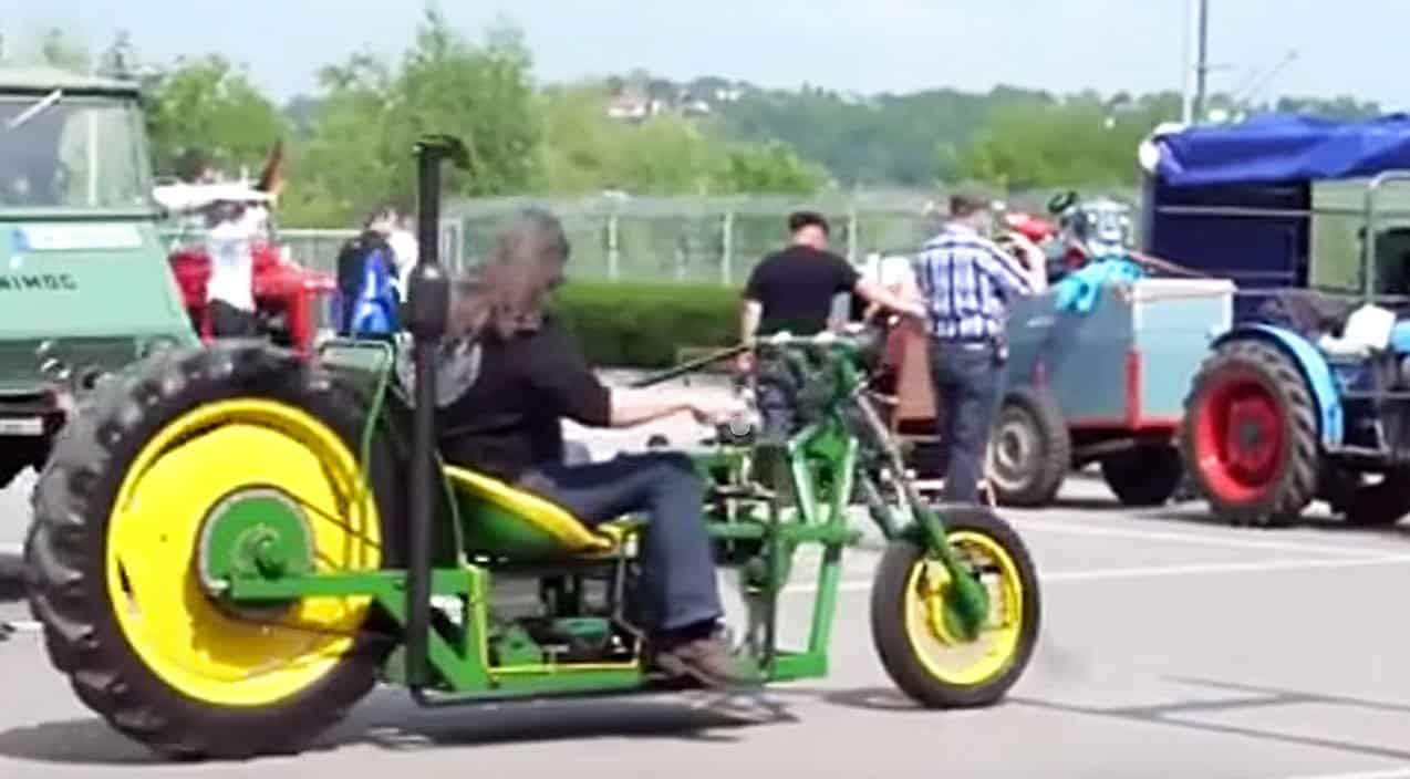 See John Deere Tractor Turned Bad Ass Chopper – Country ...