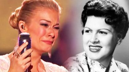 LeAnn Rimes Sings Through Tears In This Glorious Patsy Cline Tribute