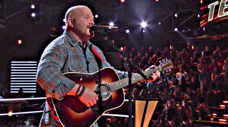 "40-Year-Old Construction Worker Wins Knockout Round With Breathtaking ""Outskirts Of Heaven"" 