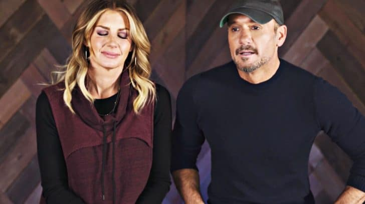 """When Tim McGraw First Saw Faith Hill, """"I Knew I Needed Her"""" 