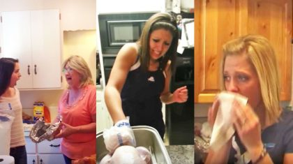 Just A Bunch Of Hysterical Turkey Pranks To Get You In The Holiday Spirit
