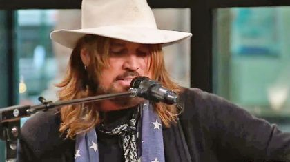 Billy Ray Cyrus Goes Unplugged For No-Nonsense Tribute To Johnny Cash With 'Folsom Prison Blues'
