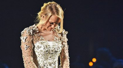 Carrie Underwood Breaks Down Crying During Heart-Melting Tribute To Vegas Victims