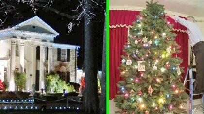 You'll Love Watching Elvis Presley's 'Graceland' Transform For The Christmas Season