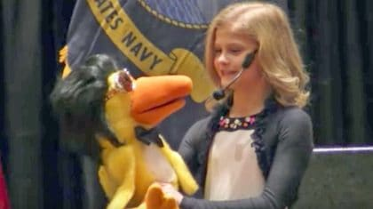 Darci Lynne's Elvis-Impersonating Puppet Will Get You 'All Shook Up' Singing The King's Hit