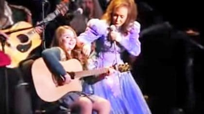 Loretta Lynn's 11-Year-Old Granddaughter Delivers Passionate 'If I Die Young' Cover