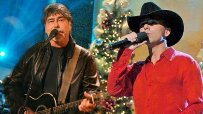 Kenny Chesney & Alabama's Randy Owen Spread Cheer With 'Christmas In Dixie' Duet