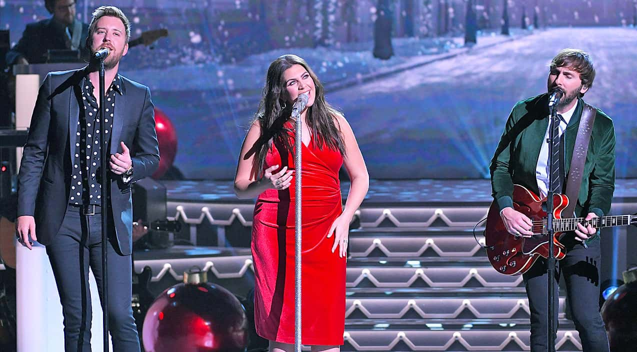 lady antebellum wonderfully welcomes the holiday season with dazzling this christmas silver bells