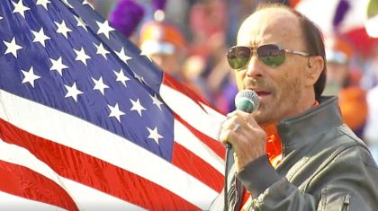 Lee Greenwood Joins Clemson Marching Band For Moving 'God Bless The USA' Military Tribute