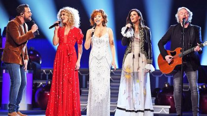Reba McEntire & Little Big Town Bring Breathtaking Harmonies To 'Mary, Did You Know?'