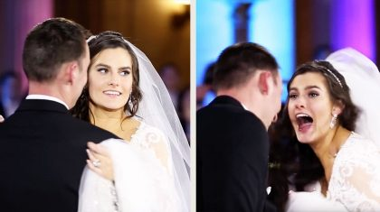 Bride Bursts Into Tears As Groom Secretly Invites Country Star To Sing At Wedding