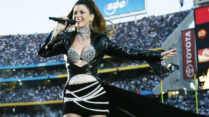 Sexy Shania Twain Dominates At Killer Super Bowl Halftime Show