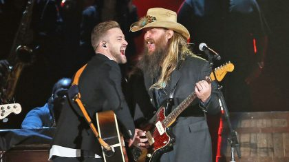 Remember When Justin Timberlake And Chris Stapleton Took The CMA Awards By Storm?