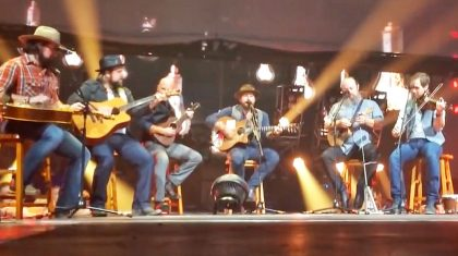Zac Brown Band Embodies Outlaw Spirit With Enthusiastic 'You Never Even Called Me By My Name'
