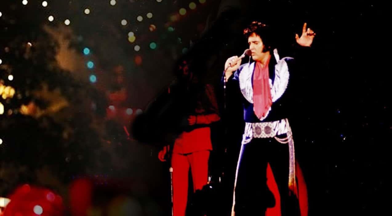 """Watch Elvis Presley\'s Final """"Blue Christmas"""" Just Weeks Before Death ..."""