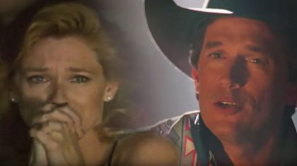 George Strait Sweetly Sings 'I Cross My Heart' To Woman Of His Dreams