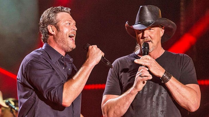 Blake Shelton Dishes The Details About Trace Adkins' Unusual Role On His Tour | Country Music Nation