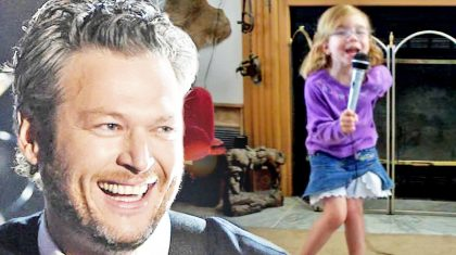 4-Year-Old Performs Blake Shelton's 'The More I Drink'