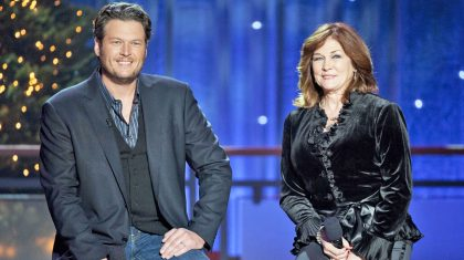 Blake Shelton & His Mom Duet To Sentimental Christmas Song They Wrote Together