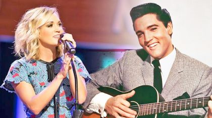 Carrie Underwood Joins Elvis For A Heart-Stopping 'I'll Be Home For Christmas' Duet