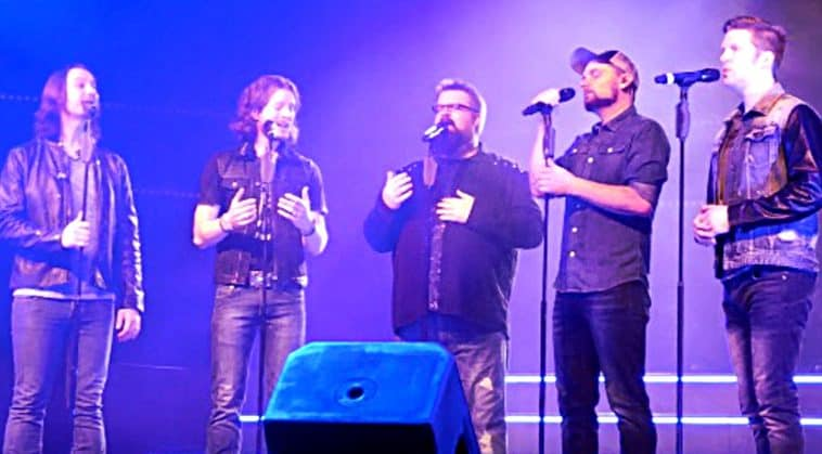home free covers go rest high then one guy sings amazing grace