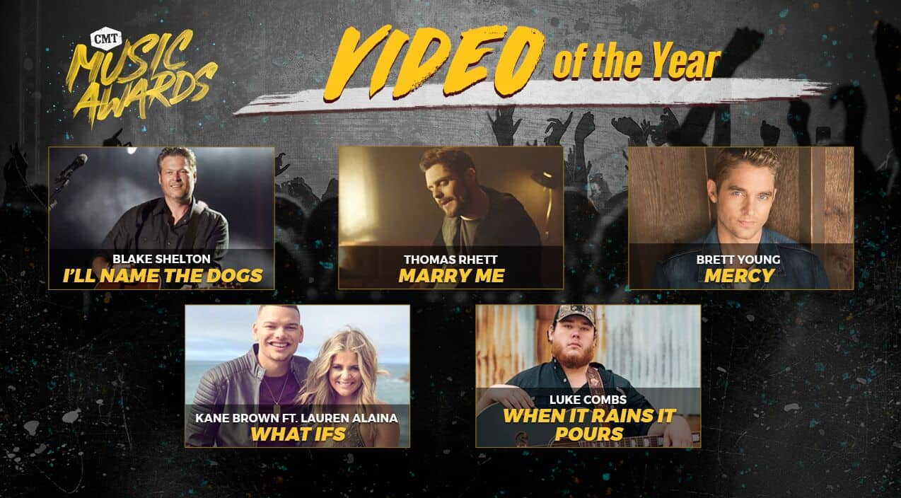 2018 CMT Music Awards Announce Video Of The Year Winner