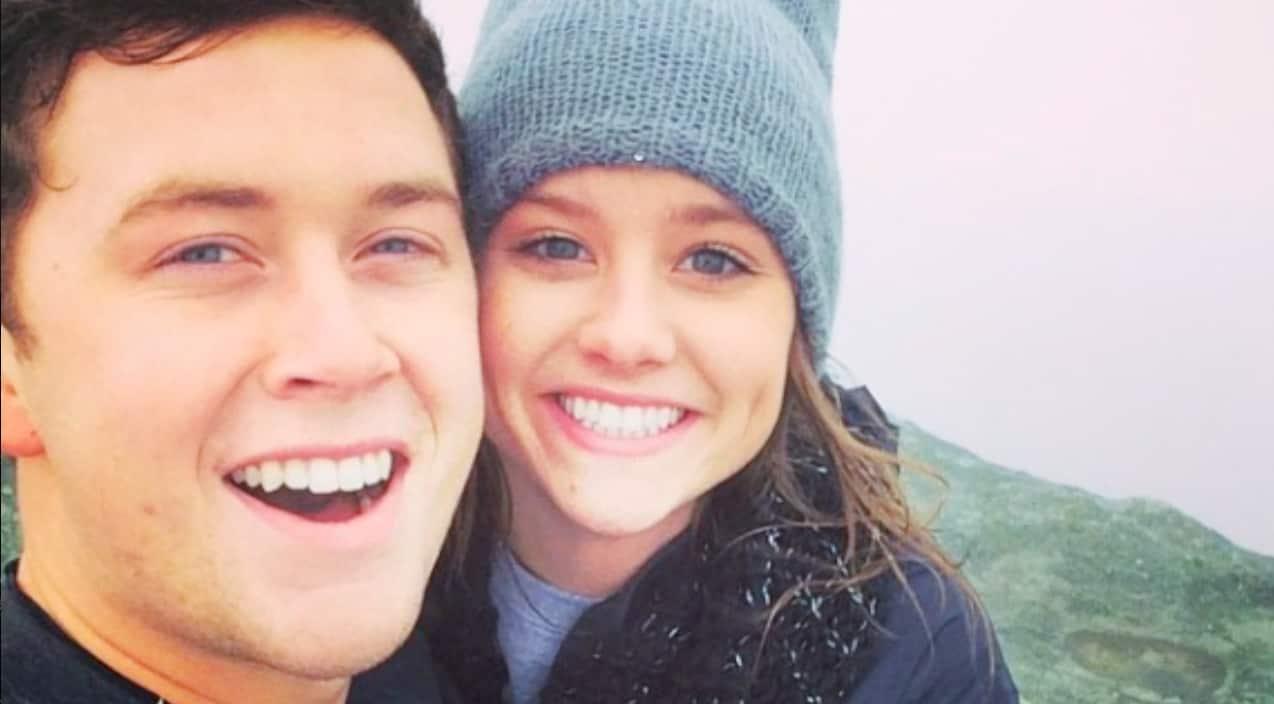 Scotty McCreery en Lauren Alaina dating 2015