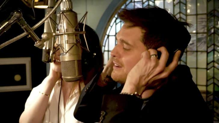 Michael Buble Reveals His Voice Crush And Joins Her For