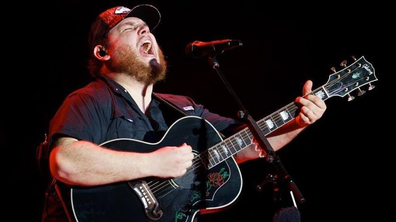 Days After Going Double Platinum, Luke Combs Wins Big At iHeartRadio