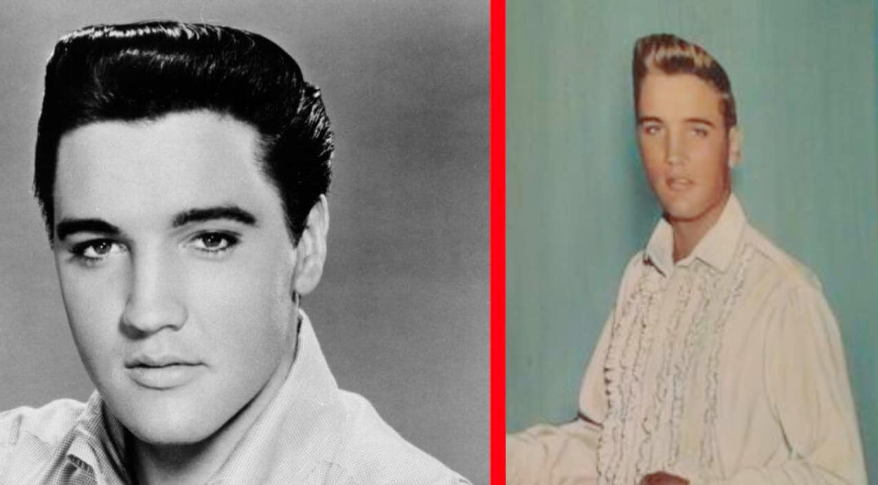 Old Photo Proves Elvis Presley Was Actually Blonde Country Music Nation