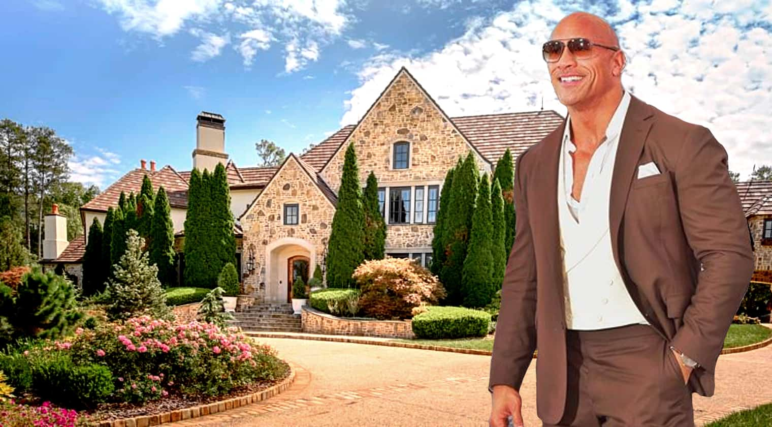Dwayne The Rock Johnson Buys 9 5 Million Georgia Country Estate With Cash Country Music Nation