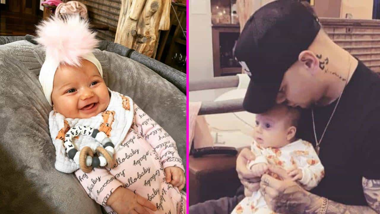 Kane Brown Shares Photo Of Daughter Kingsley With Big ...