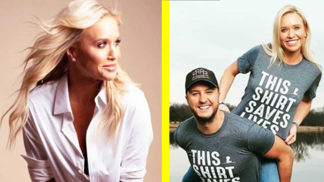 10 Photos Introducing Luke Bryans Wife Caroline -5993